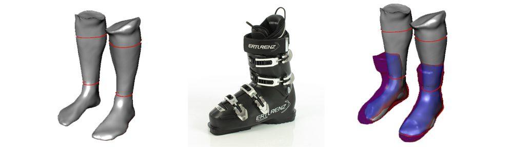 sportswear Wolf - Skistiefel